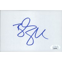 Bill Goldberg Wrestler WCW WWE Signed 4x6 Index Card JSA Authenticated