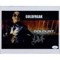 Goldust WWE WWF Wrestler 8x10 Glossy Photo JSA Authenticated