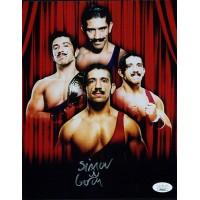 Simon Gotch WWE WWF Wrestler 8x10 Glossy Photo JSA Authenticated