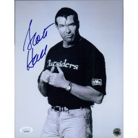 Scott Hall Signed NWO Wrestling 8x10 Glossy Photo JSA Authenticated