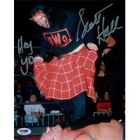 Scott Hall Signed NWO Wrestling 8x10 Glossy Photo PSA/DNA Authenticated
