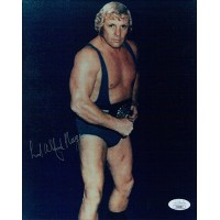 Lord Alfred Hayes WWF WWE HOF Signed 8x10 Glossy Photo JSA Authenticated