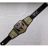 Hulk Hogan WWE WWF Signed Toy Championship Replica Belt JSA Authenticated