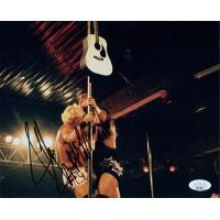 Jeff Jerrett WWF WWE TNA Wrestling Signed 8x10 Matte Photo JSA Authenticated