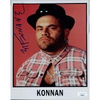 Konnan NWO WWF Wrestler 8x10 Glossy Photo JSA Authenticated
