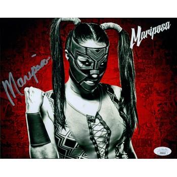 Mariposa Wrestler 8x10 Glossy Photo JSA Authenticated