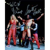 NWO Kevin Nash and Scott Hall Signed Wrestling 8x10 Photo PSA/DNA Authenticated