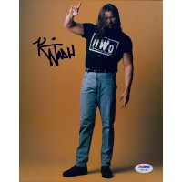 Kevin Nash Signed NWO Wrestling 8x10 Glossy Photo PSA/DNA Authenticated