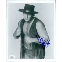Bob Cowboy Orton Signed WWF/WWE Wrestling 8x10 Glossy Photo JSA Authenticated