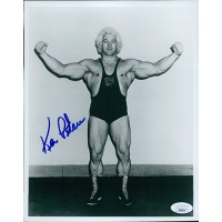 Ken Patera Wrestler Olympic Weightlifter 8x10 Glossy Photo JSA Authenticated