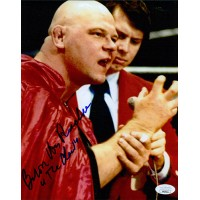Baron Von Raschke WWE WWF Wrestler 8x10 Glossy Photo JSA Authenticated