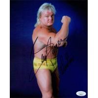 Greg The Hamer Valentine WWE WWF Wrestler 8x10 Matte Photo JSA Authenticated