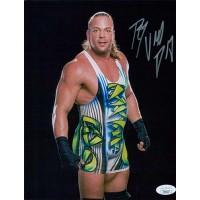 Rob Van Dam WWE WWF Wrestler 8x10 Glossy Photo JSA Authenticated