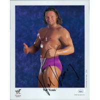 Val Venis Wrestler WWF WWE Signed 8x10 Cardstock Photo JSA Authenticated