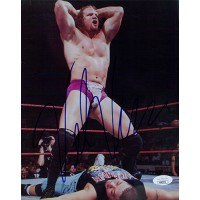 Val Venis WWF/WWE Wrestling 8x10 Glossy Photo JSA Authenticated