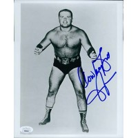 Bill Watts WWF WCW Wrestler 8x10 Glossy Photo JSA Authenticated