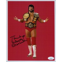 Steve Williams Dr. Death NWA Wrestler 8x10 Glossy Photo JSA Authenticated