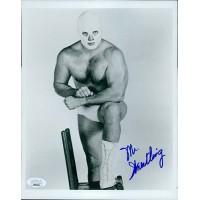 Mr. Wrestling WWE WWF Wrestler 8x10 Glossy Photo JSA Authenticated