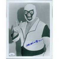 Mr. Wrestling II Johnny Walker WWF Wrestler 8x10 Glossy Photo JSA Authenticated
