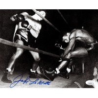 Jake Lamotta Raging Bull Signed 8x10 Boxing Stock Card Photo JSA Authenticated
